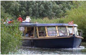 Fluisterboot. Knipsel