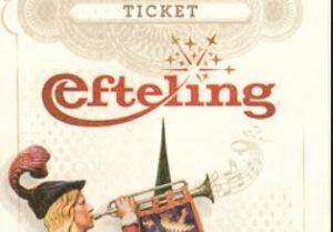 Efteling ticket. Knipsel
