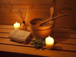 sauna. Knipsel